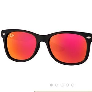552a385a73 ... closeout ray ban accessories junior ray ban wayfarer with red mirror  lenses a8867 d0526